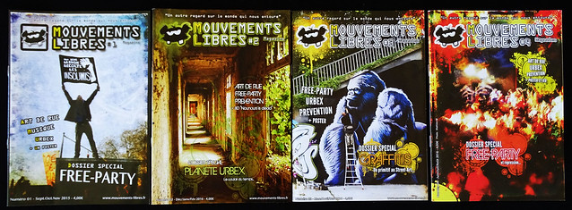 Mouvements Libres magazine collector
