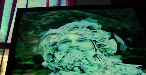 C'mon, at least someone is made of money! TV ad, random shot, Seattle, Washington, USA by Wonderlane