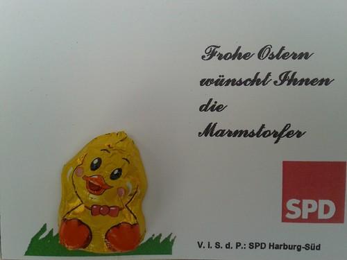 Frohe Ostern wünscht die SPD Marmstorf