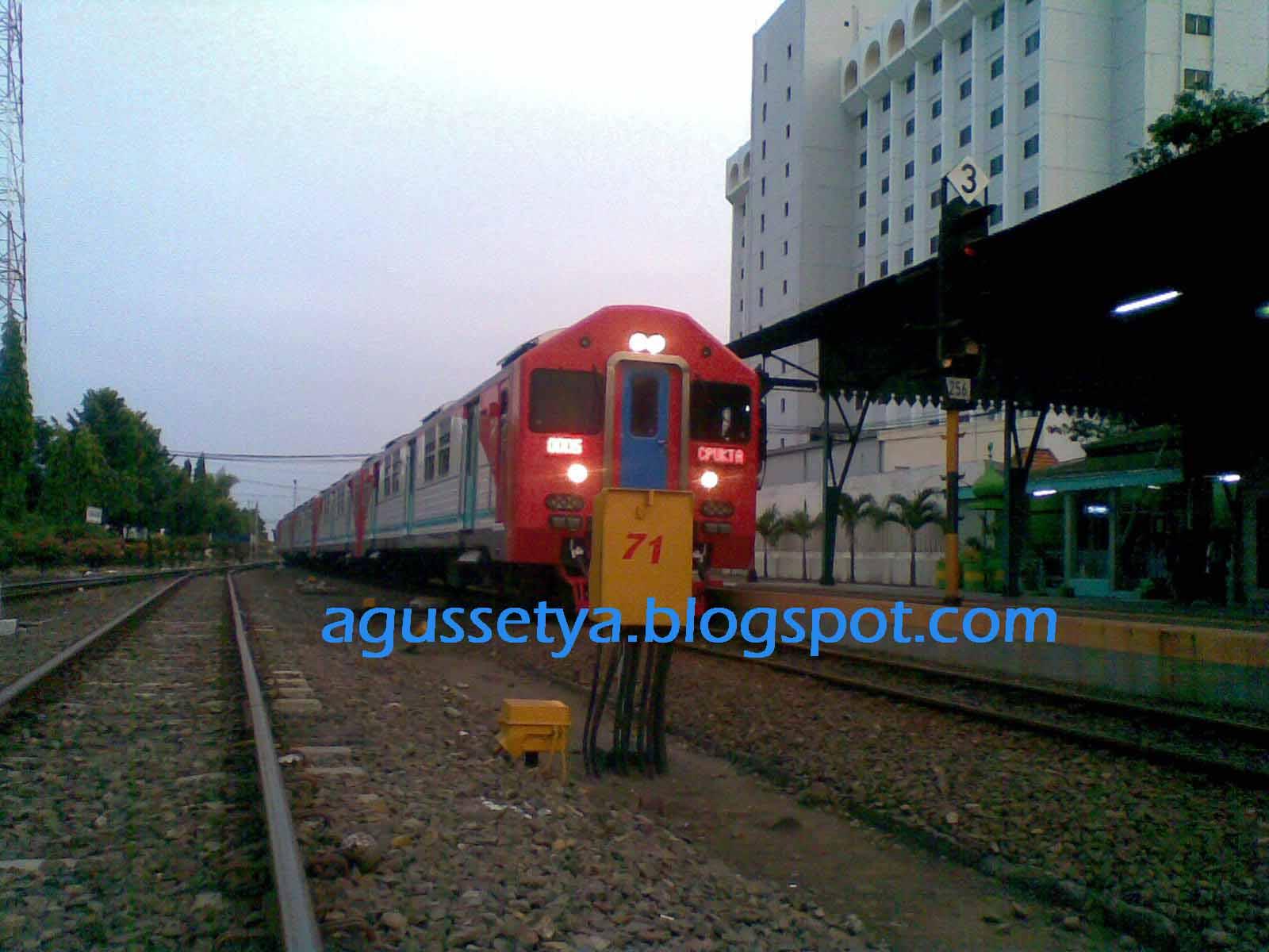 Kereta Api Arjuna Ekspres Jalan Lagi