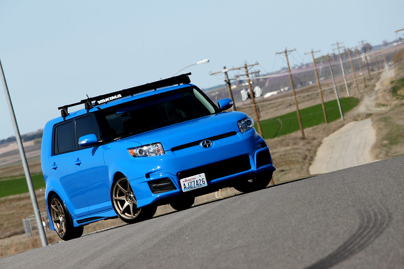 Updated pics of my Voodoo Blue RS8 - Scion XB Forum