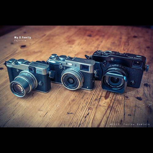 My X Family | Fujifilm