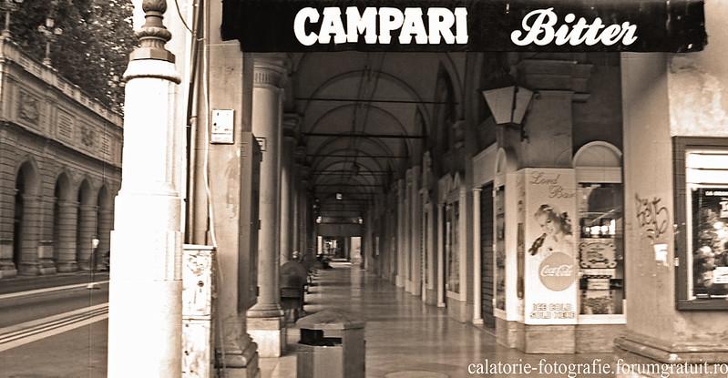 Bologna, Italia - oraşul celei mai vechi universităţi din lume, la primele clipe ale dimineţii 8608402896_4ae845ccd9_c