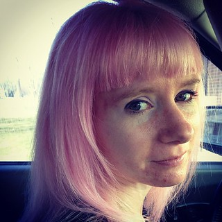 Day91 Pink Hair! YAY! 3.31.13 #jessie365