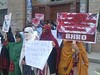 BHRO PROTEST AGAINST ARMY OPERATION IN NEW KAHAN 1st April 2013