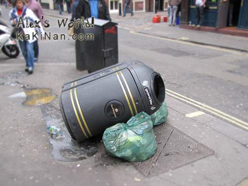 City of Westminster, London Bins