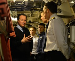 PM visits HMS Victorious