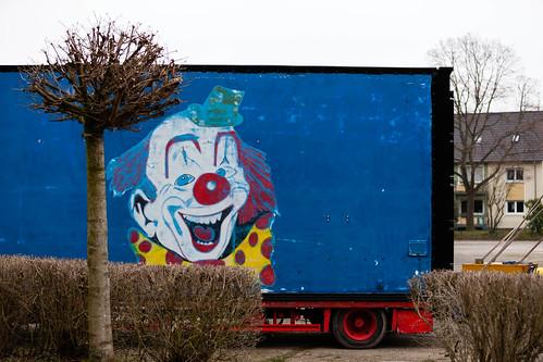 Clown; copyright 2013: Georg Berg