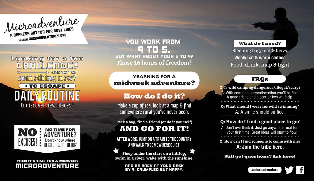 Your Year of Microadventure - Alastair Humphreys