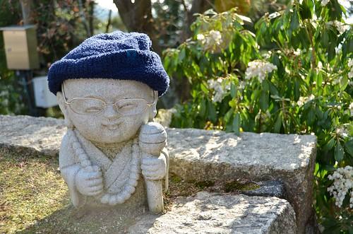 Miyajima Hipster Buddha Statue
