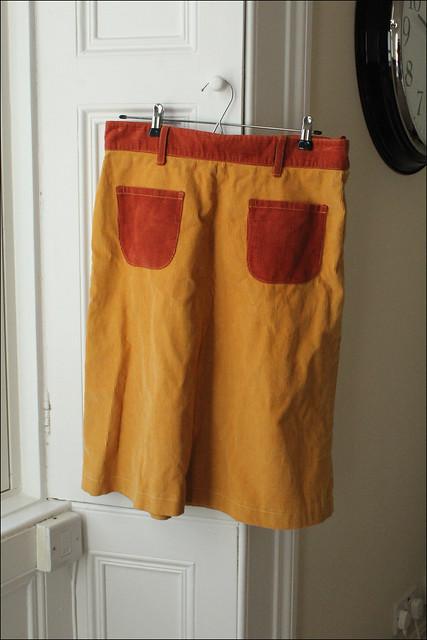 thrifted eley kishimoto skirt