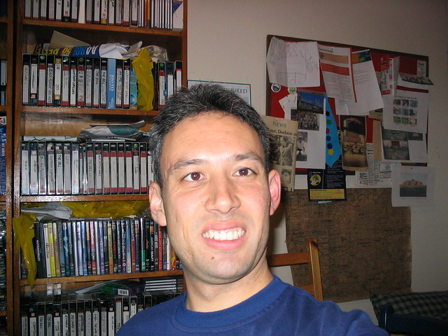 The second digital photo I ever took: a selfie (11/4/2003)