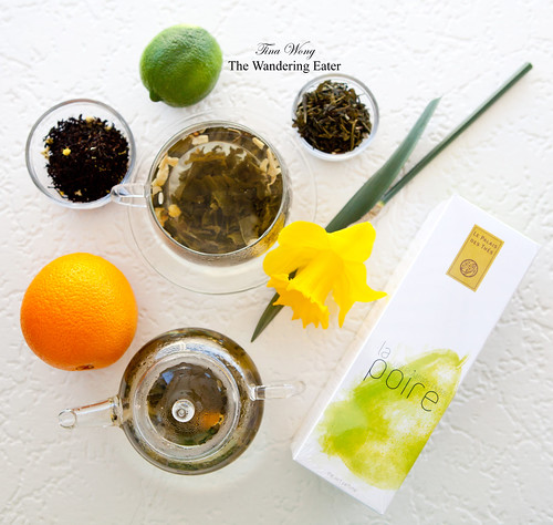 Le Palais des Thés: Les Plaisirs Purs teas (4 flavors shown)