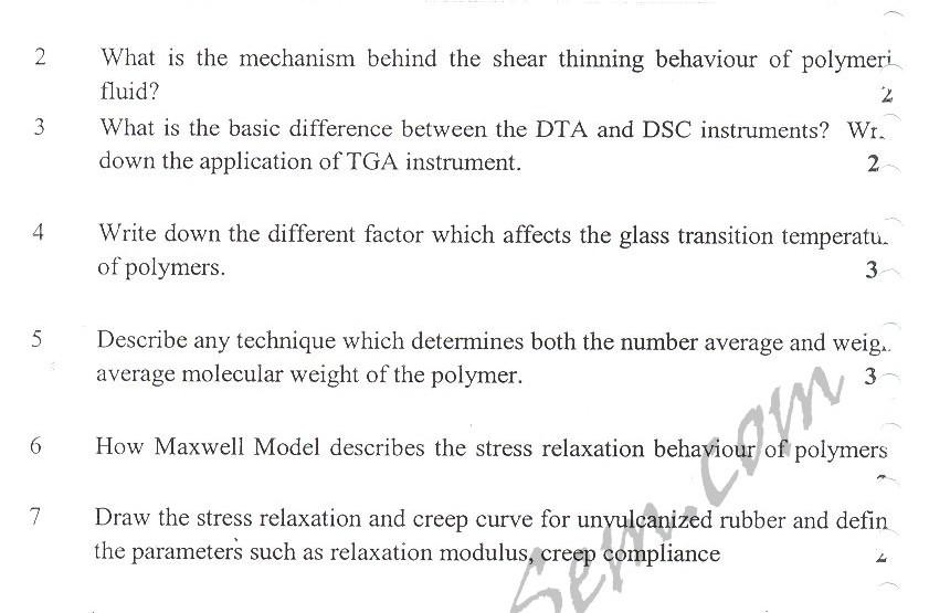 DTU Question Papers 2010 – 3 Semester - Mid Sem - PT-203