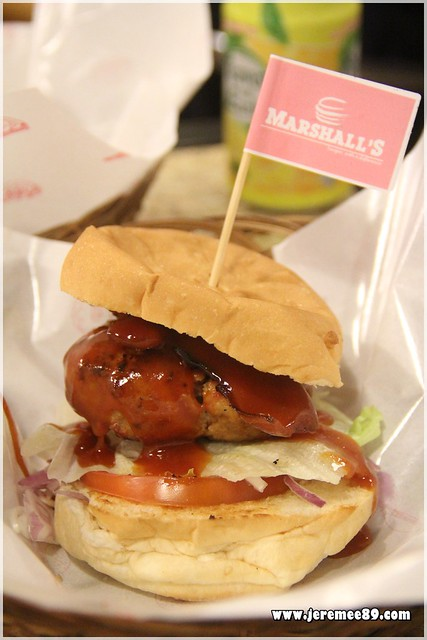 Marshalls Burger @ Burmah Road - The Fat Piglet