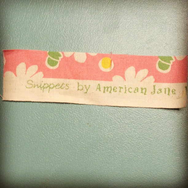 Cute little selvedge #modafabrics #americanjane #quilting
