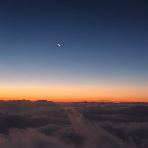 square australia clouds aerial sydney airport flight moon twilight dusk fromplane cameracanon5d2