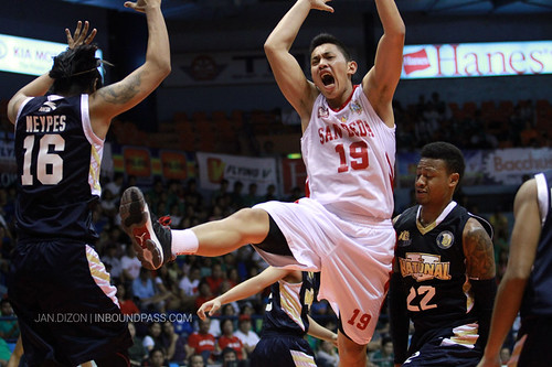 2013 FilOil Flying V Preseason: NU Bulldogs vs. San Beda Red Lions, April 13