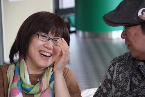 Keiwa Lunch 20130410 やまだみつるさんとまついひろえさんを迎えて