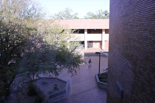 6:27 PM: Lander University Plaza
