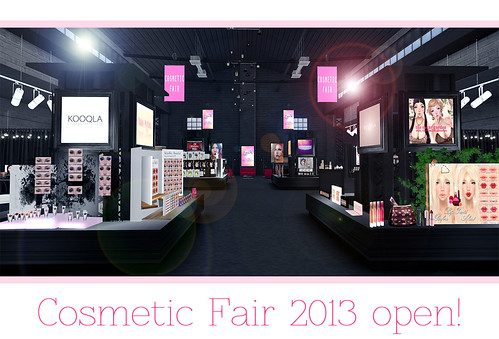 Cosmetic Fair 2013 by Ekilem Melodie - MONS