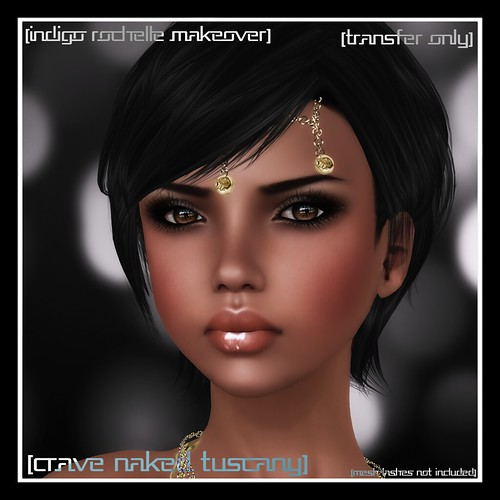 [mock] Indigo Rochelle Makeover: Crave Naked Tuscany by Mocksoup