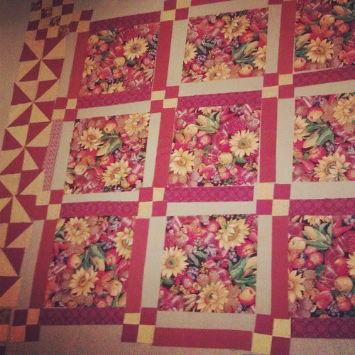 Making extra work for myself, but I prefer this layout so much more! #quilting #quilt
