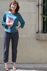 Pantalón Burda Style 2013/03 modelo 104