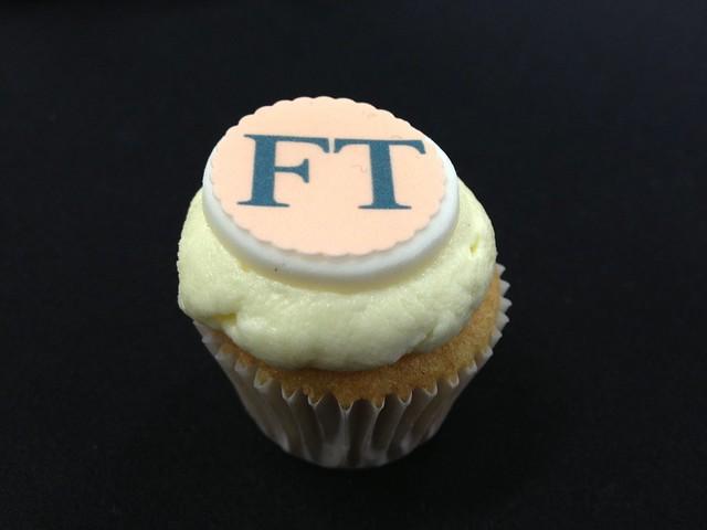 Financial Times cake