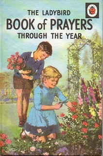 THE BOOK OF PRAYERS THROUGH THE YEAR Vintage Ladybird Book from Series 612