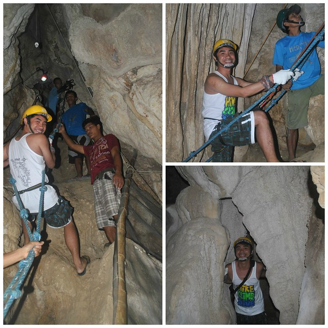 SPELUNKING AND CAVING UGONG ROCK