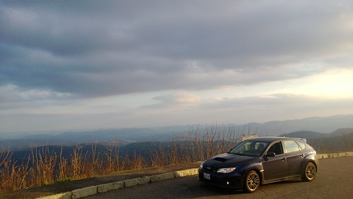 Overlooking Deer Gap, Blue Ridge Parkway, North Carolina