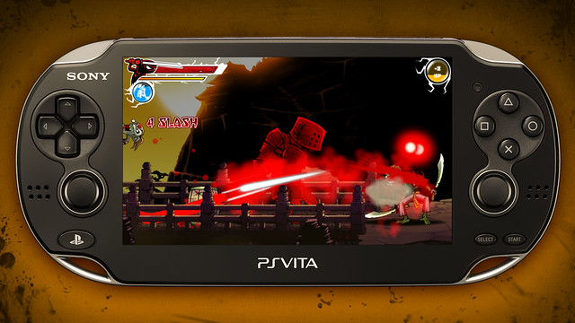 Draw Slasher on PS Vita