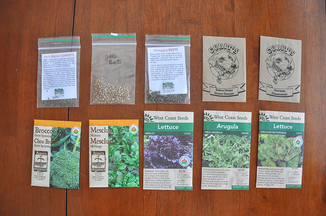 Heirloom Seed Packs