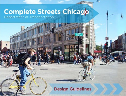 Cover, Chicago Complete Streets Design Manual