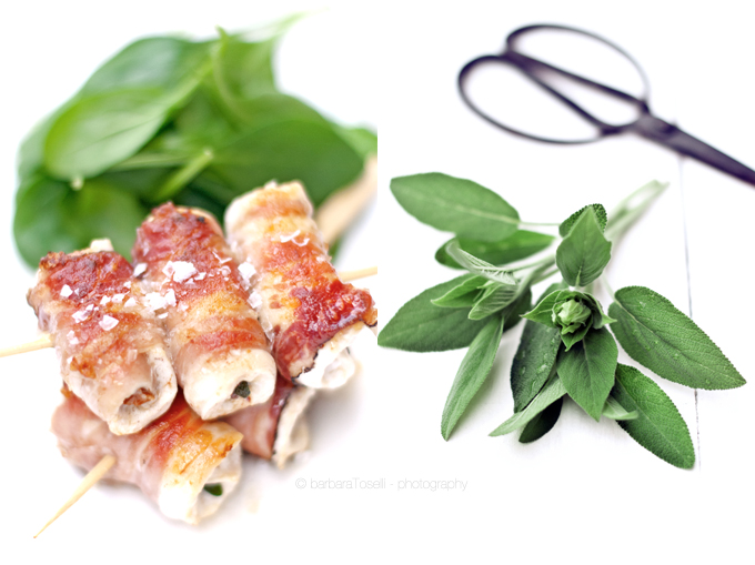 duo saltimbocca salvia
