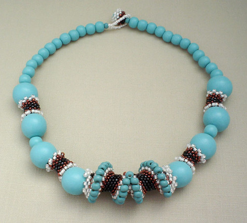 By The Sea Necklace - Tagua Beads Giveaway