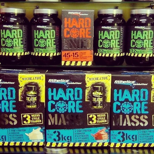 Atlhetica Hardcore Series, nutrição especializada para atletas hardcore by Mega Vitaminas