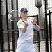 M. Tennis Action vs Wesleyan 4/10/13