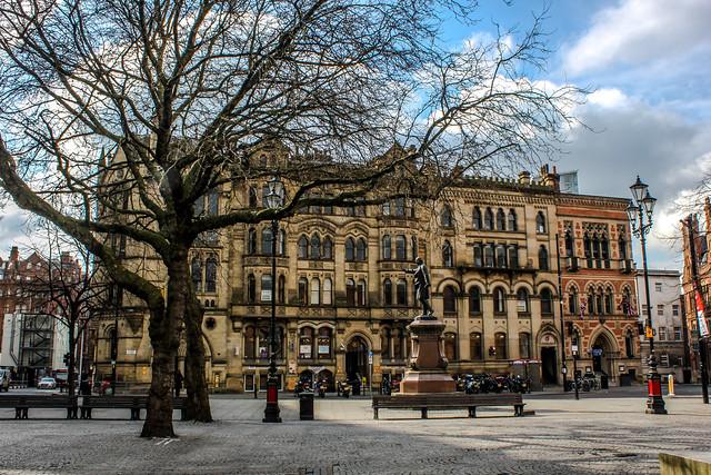 Albert Square de Manchester