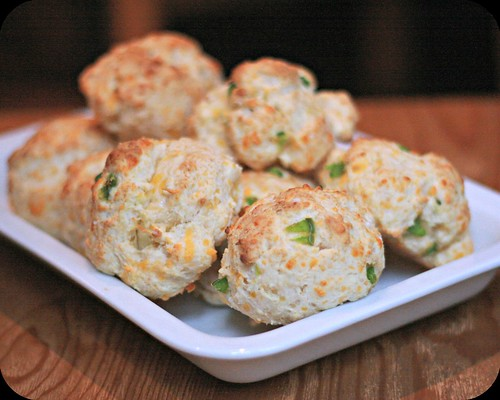 Cheddar and Jalapeno Drop Biscuits