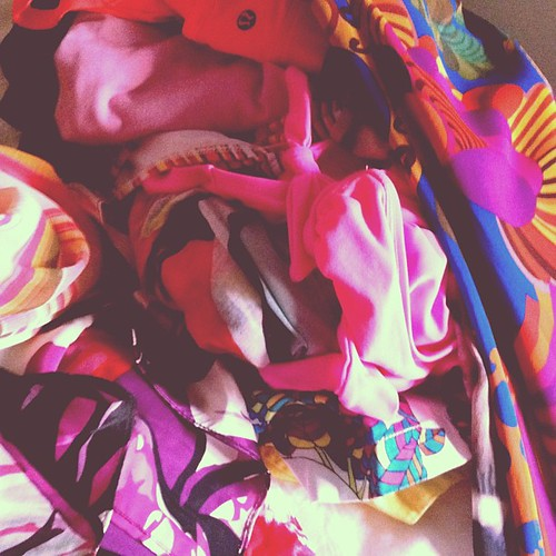Packing for Miami requires lots of color #iloveprints