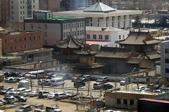 Ulaanbaatar - More Photos from my Office Window - Choijin Lama Temple Museum
