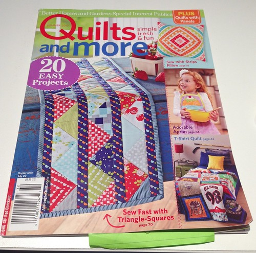 Quilts and more, Summer 2013
