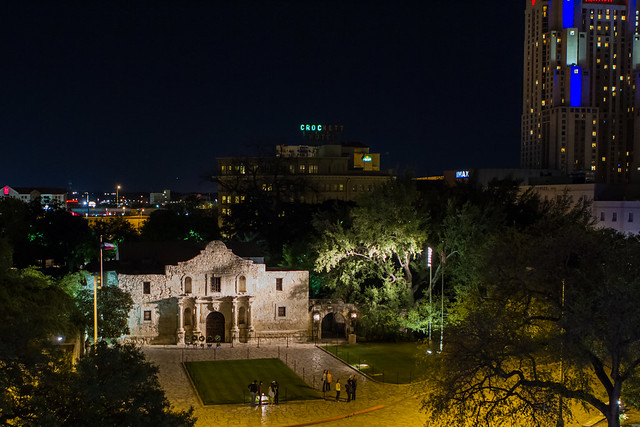 The Alamo from Above