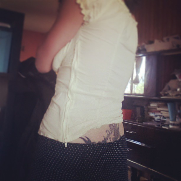 Retour de la chaleur = on remontre nos tatouages ^^