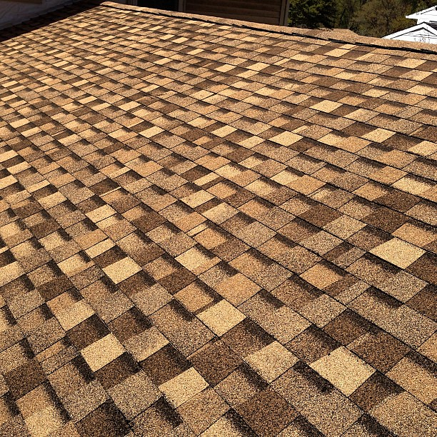 New Tamko Rustic Cedar Shingle Roof We Installed Today