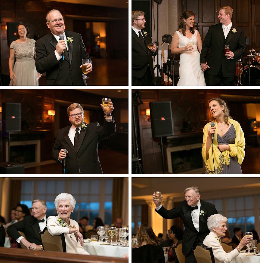 Carriage Club Kansas City wedding reception