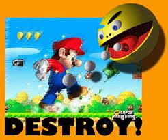 Mario w krainie Pacmana