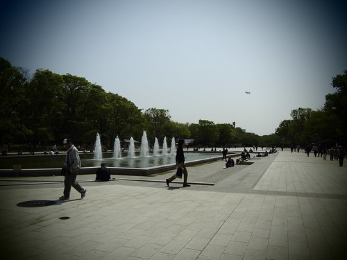 The fountain of the Ueno lecture by leicadaisuki
